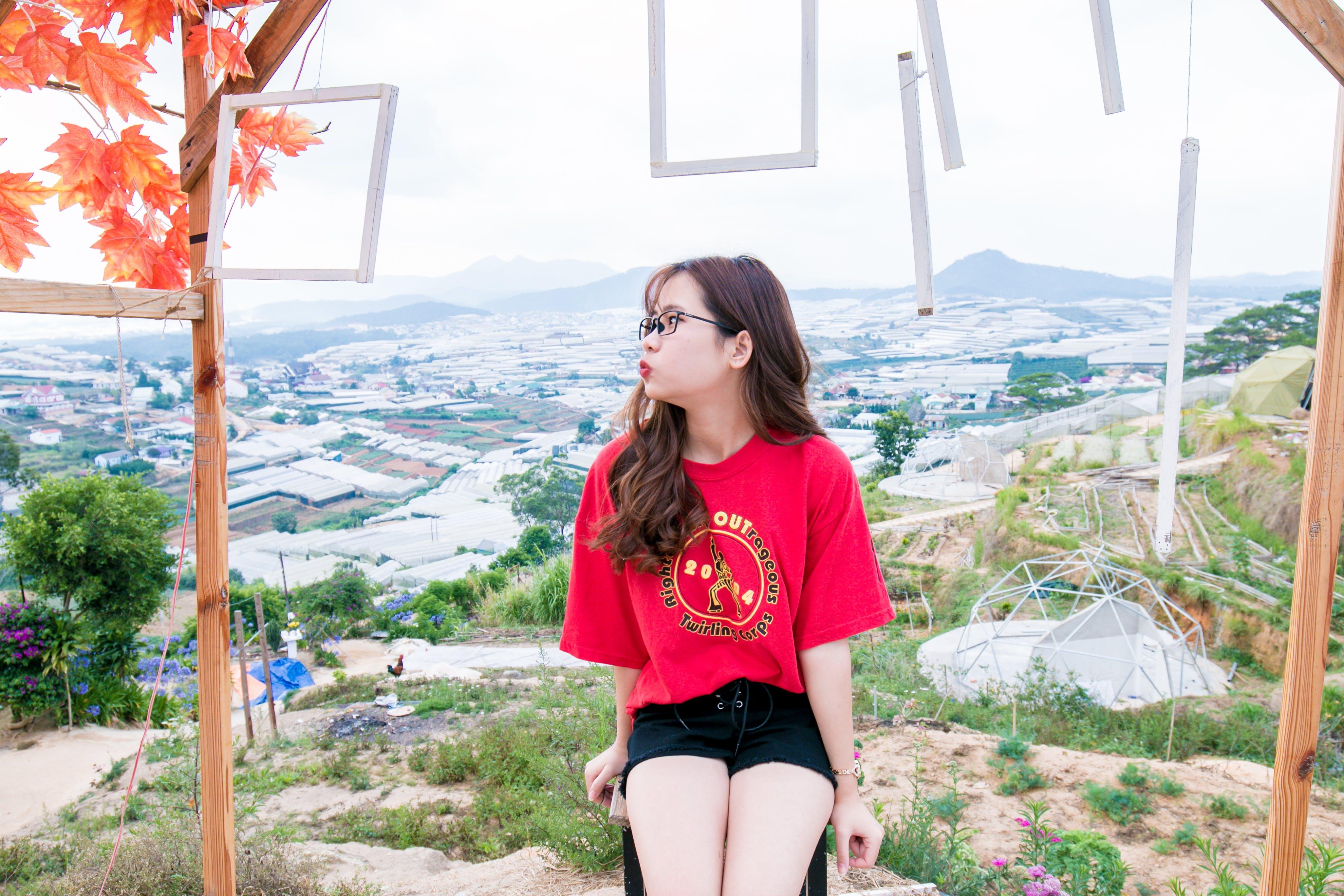 Women's Red Shirt