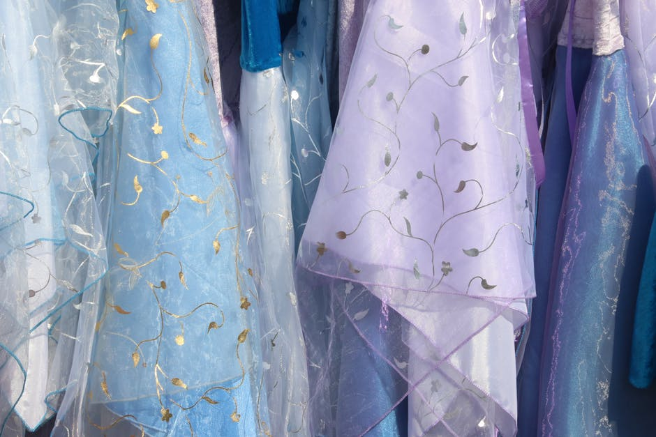Assorted color floral clothes