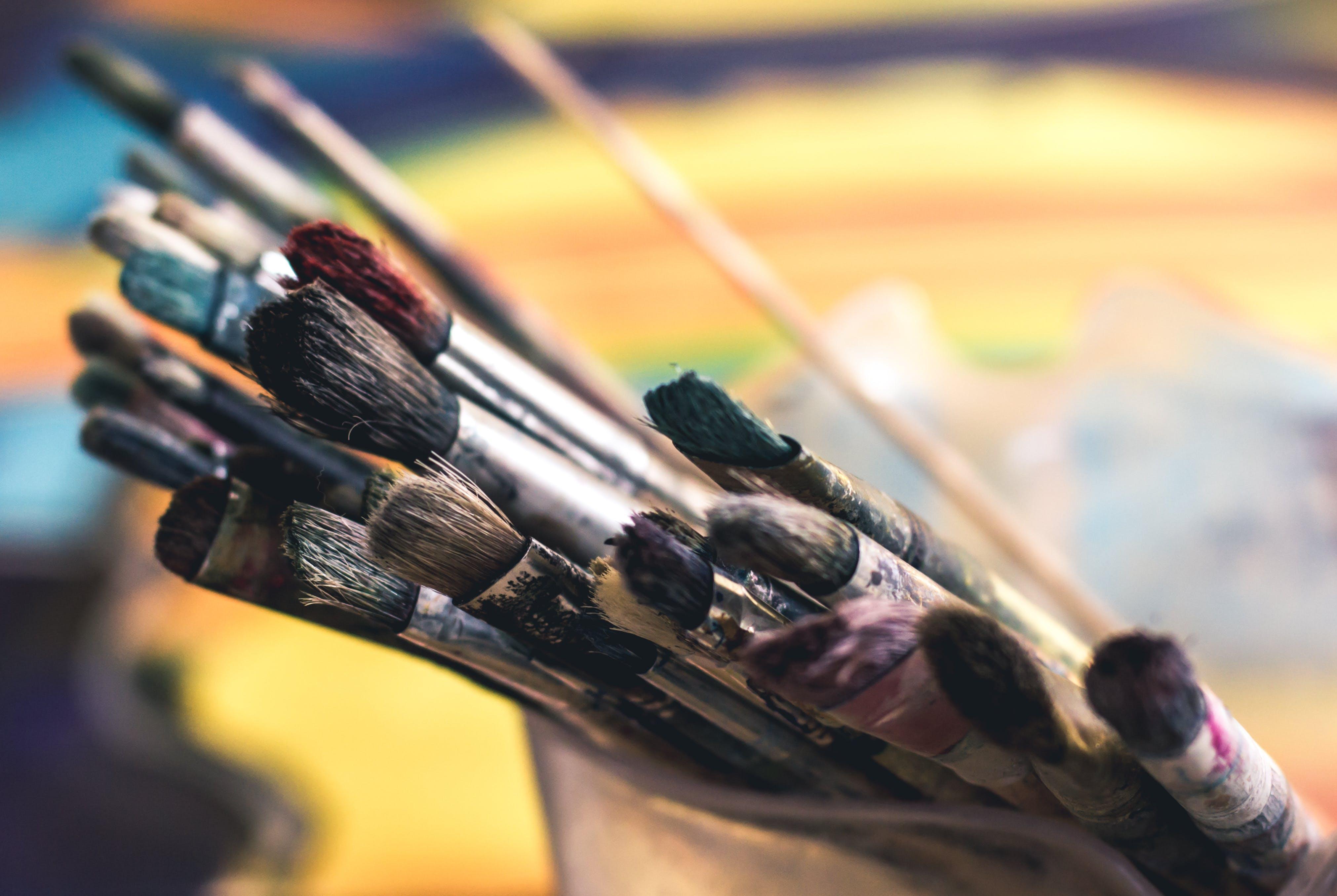 Kostenloses Stock Foto zu kreativ, kunst, malerei