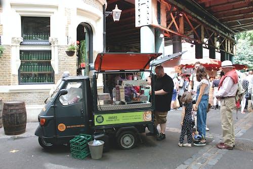 Kostenloses Stock Foto zu aufsicht, bezirk, borough market, chillen