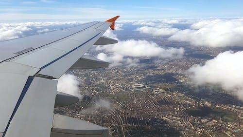 Kostenloses Stock Foto zu airoplane, aufsicht, fliegen, flug