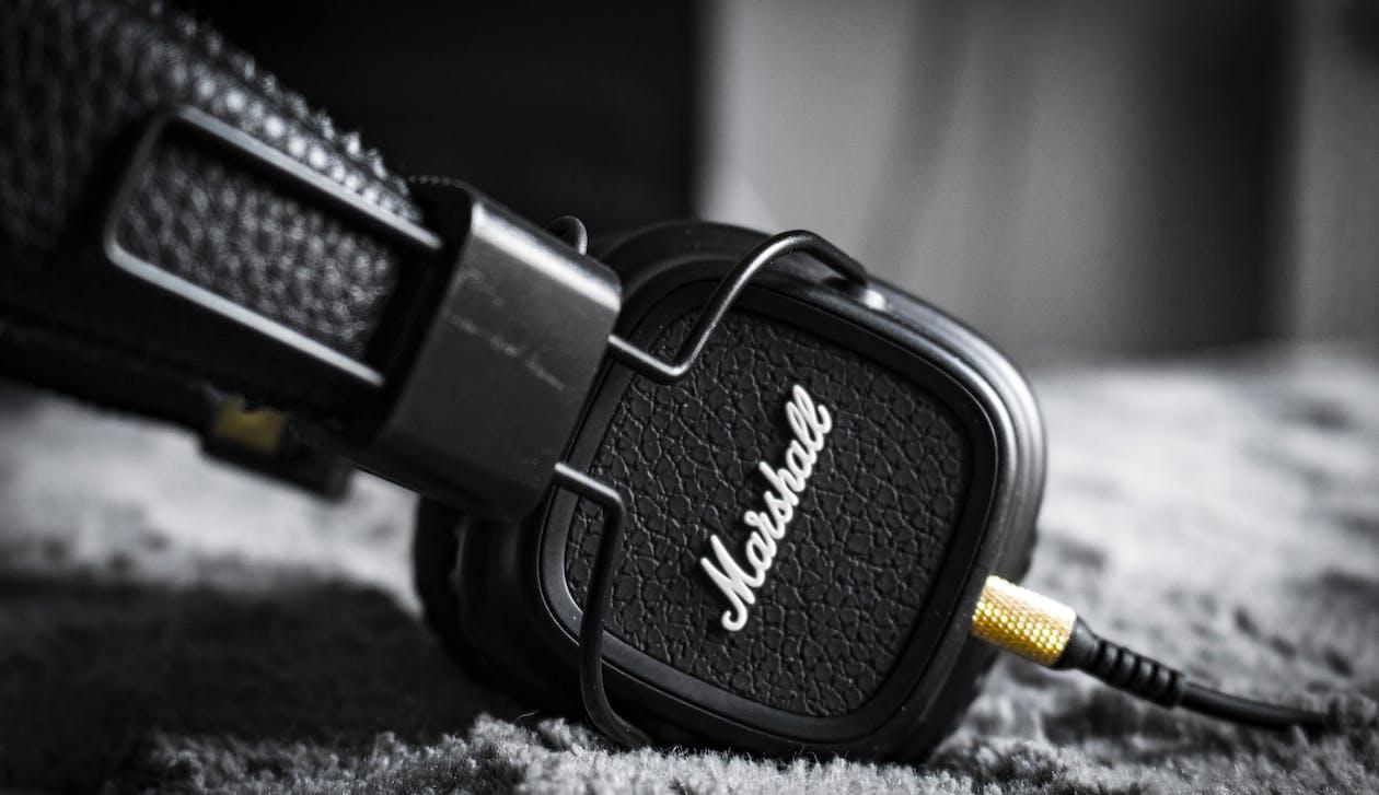 Analògic, àudio, auriculars