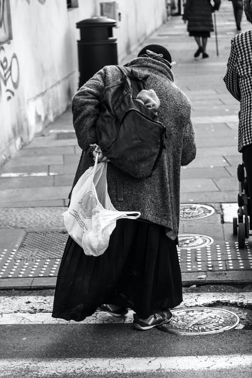 Darmowe zdjęcie z galerii z bezdomność, bezdomny, biedny, bruk