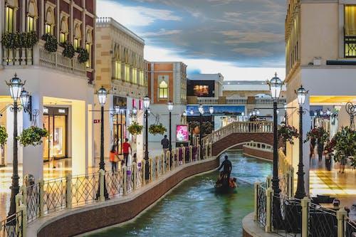 ゴンドラ, タウン, ベネチア, ベネチアンの無料の写真素材