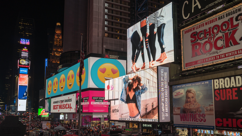 advertisements, architecture, billboards