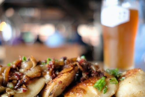 perogies, 가금류, 고기, 닭의 무료 스톡 사진