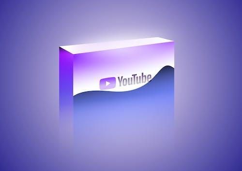 youtube 구독하기, youtube 상자, youtube 재생 버튼, 금속의 무료 스톡 사진