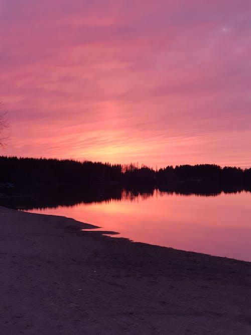 Kostnadsfri bild av bakgrundsbelyst, gryning, hav, himmel