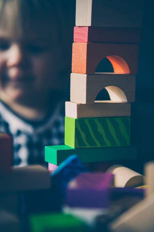 Free stock photo of blocks, child, colorful, colourful