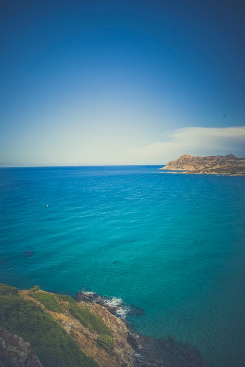 Gratis arkivbilde med blå, hav, himmel, kyst