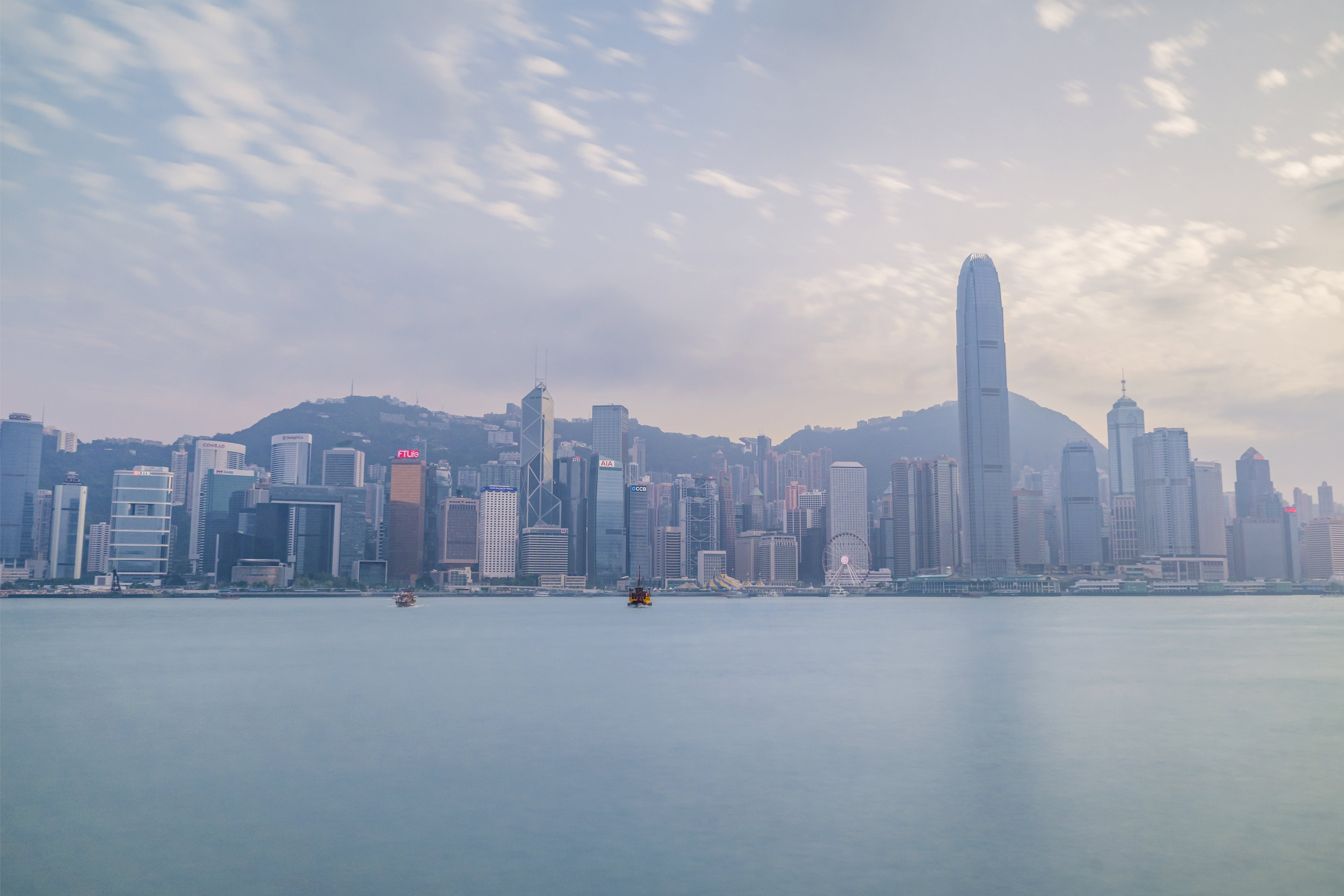 Skyline Photography of Hong Kong City