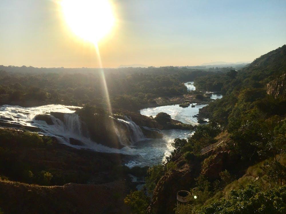 απογευματινός ήλιος, Νότια Αφρική, φύση
