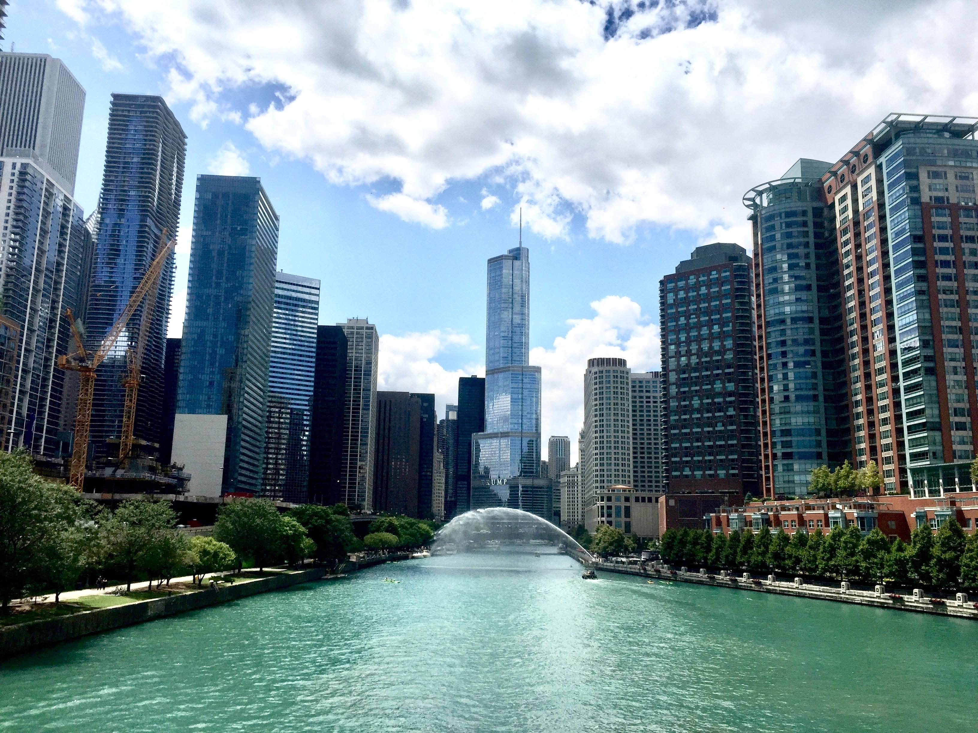 1000+ Interesting Chicago Skyline Photos · Pexels · Free ...