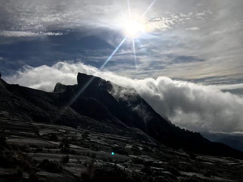 Foto profissional grátis de fotografia da natureza, kota kinabalu, montanha