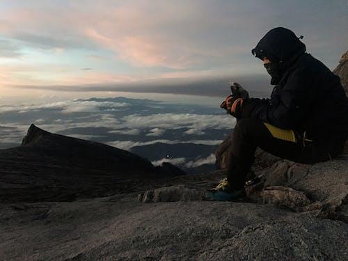 Foto profissional grátis de kota kinabalu, montanha, nascer do sol, natureza