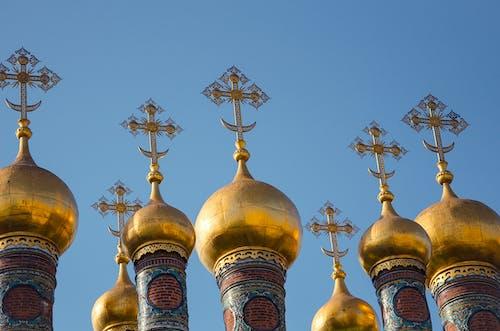 Gratis lagerfoto af arkitektur, guld, katedral