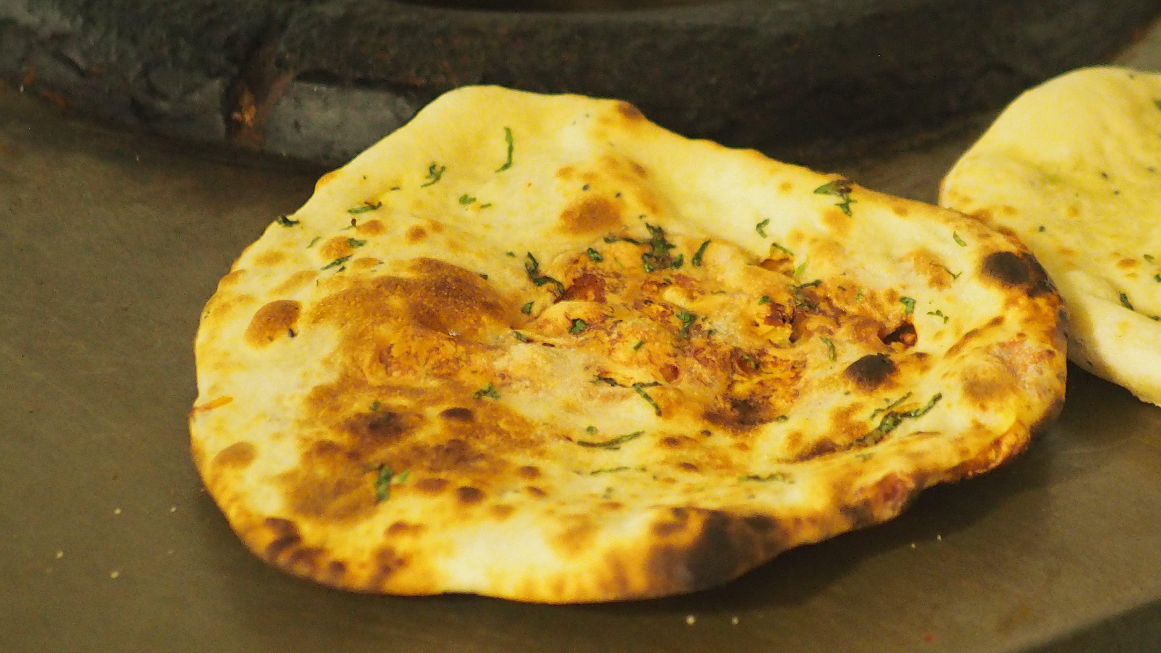 Free stock photo of naan, naan bread, nan bread