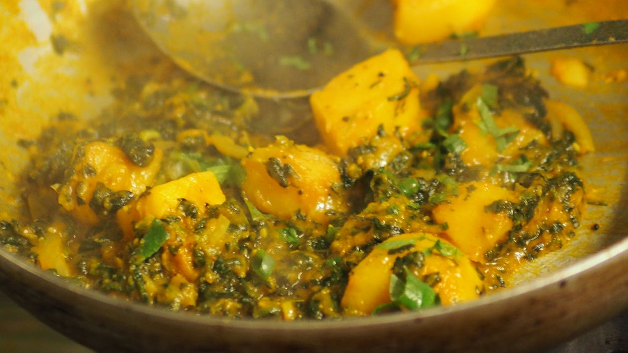 Free stock photo of aloo curry, curry, curry aloo