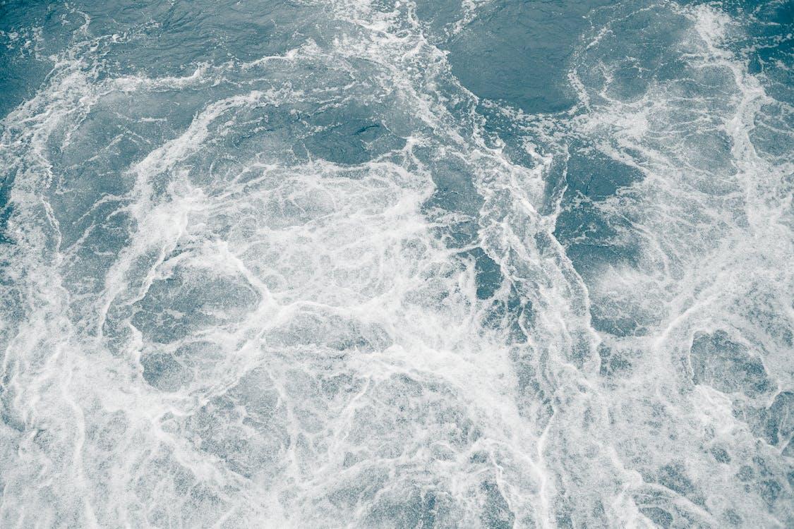 acqua, acqua azzurra, bagnato