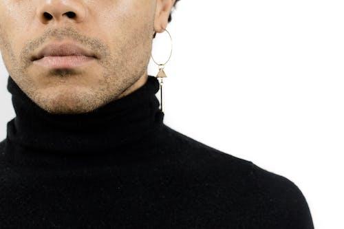 귀걸이, 남성, 남성 모델, 남자의 무료 스톡 사진