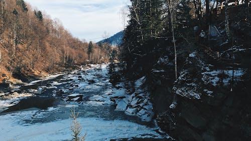 Gratis lagerfoto af bjerg, bjerge, is, sten