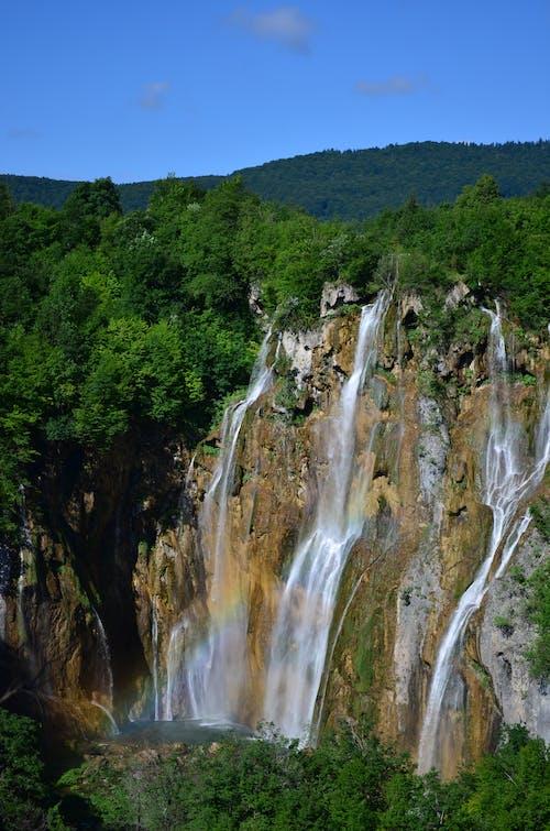 Free stock photo of croatia, mountain, sky, waterfall