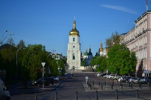 Foto profissional grátis de capela, cidade, estrada, kiev