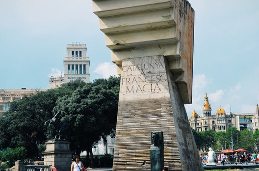 Free stock photo of monument, spain, barcelona, square