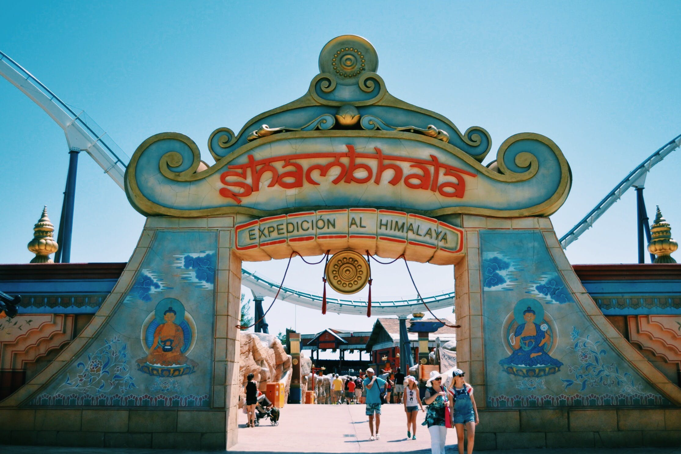 Free stock photo of attraction, aventura, port aventura, portaventura