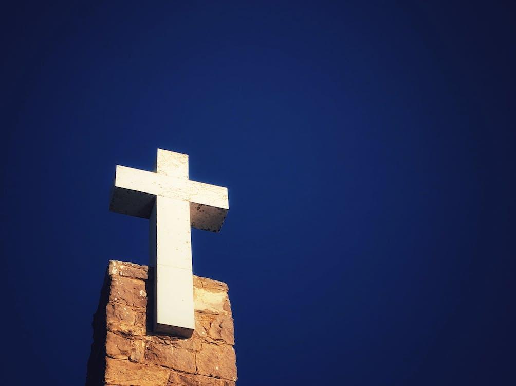 Free stock photo of blue sky, Christ, christian