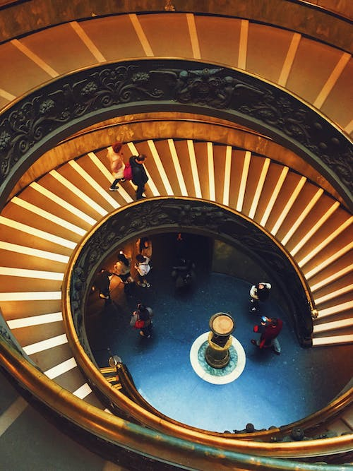 Free stock photo of museum, stairs, vatican, Vatican museum