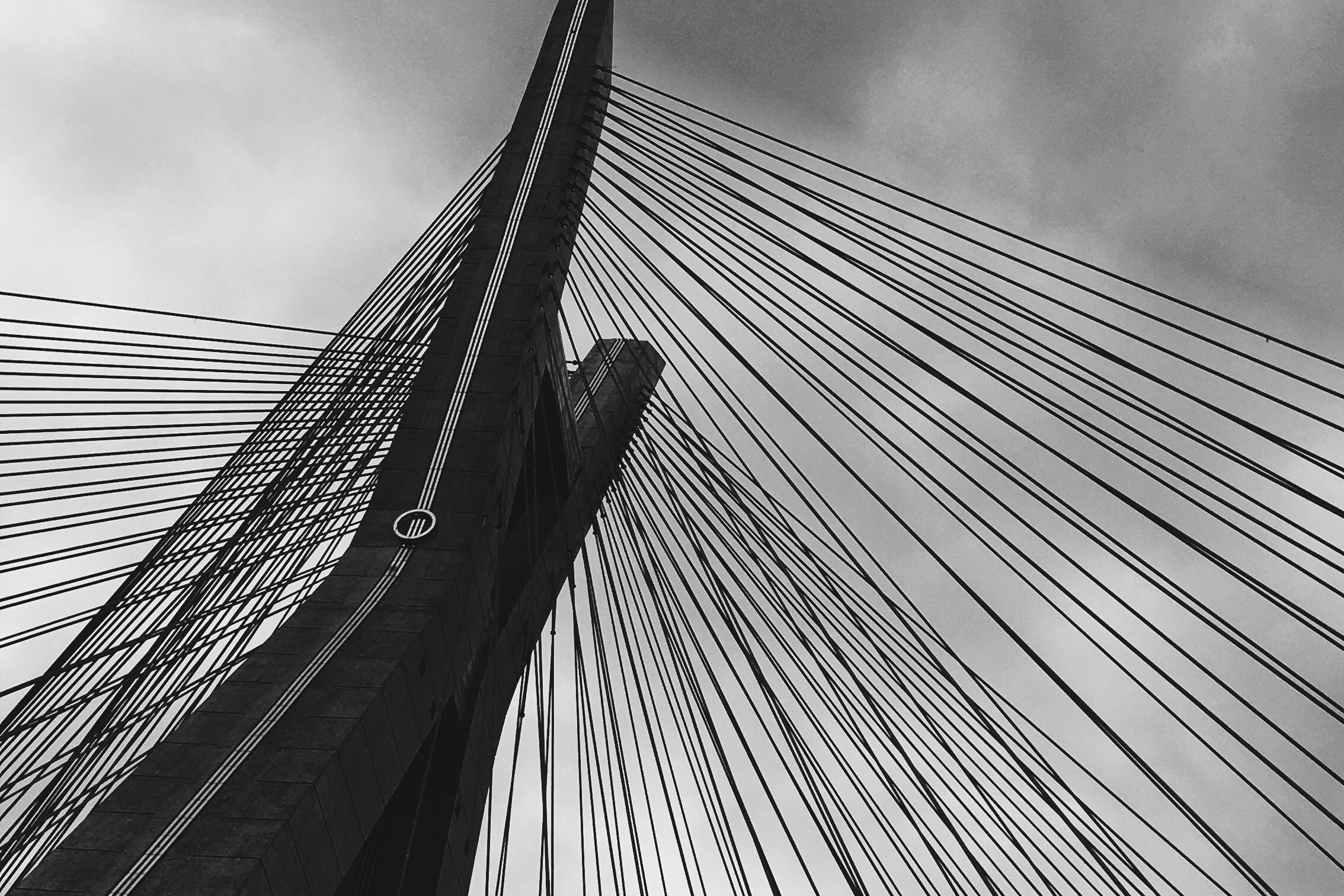 Free stock photo of bridge, gray, ponte, sao paulo