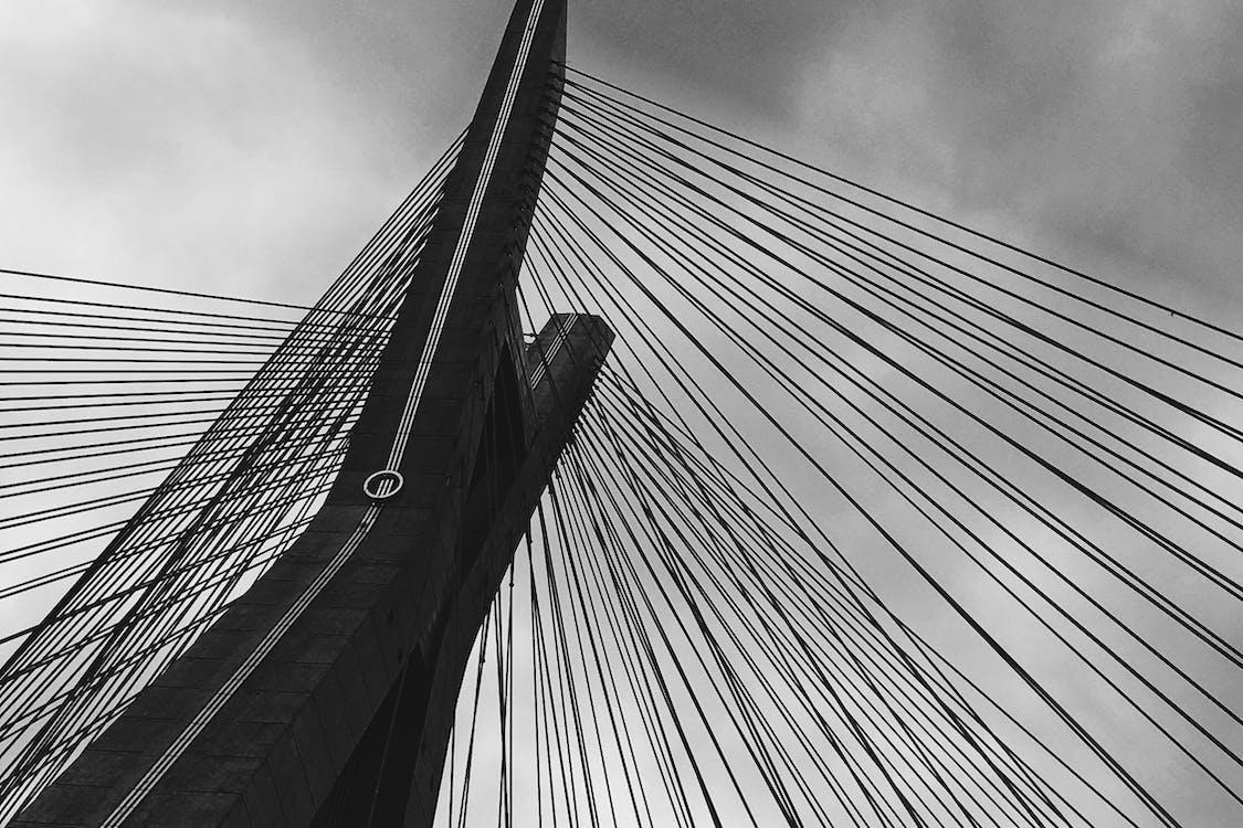 Free stock photo of bridge, gray, ponte