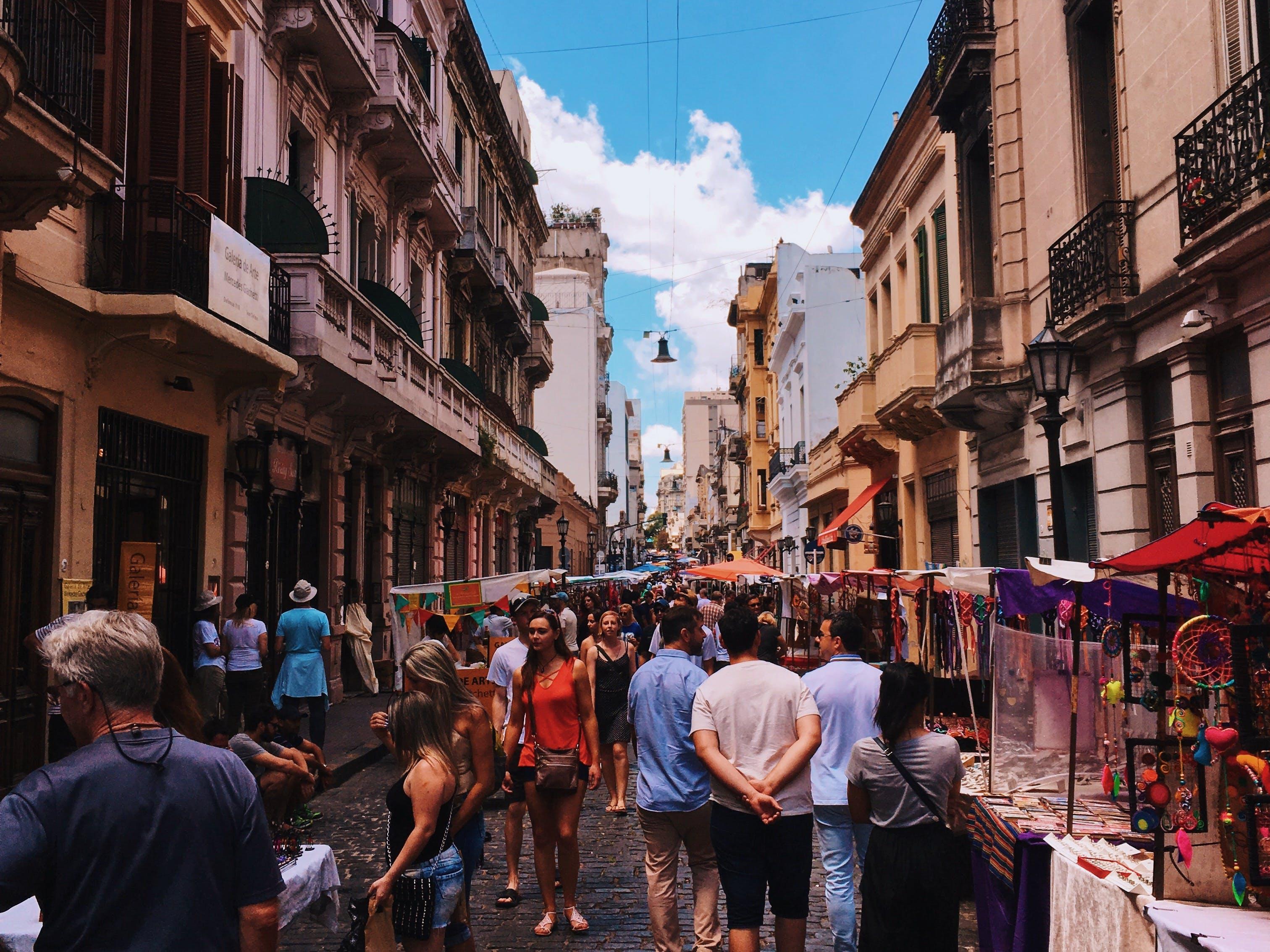 Δωρεάν στοκ φωτογραφιών με feira, feria, san telmo, αγορά