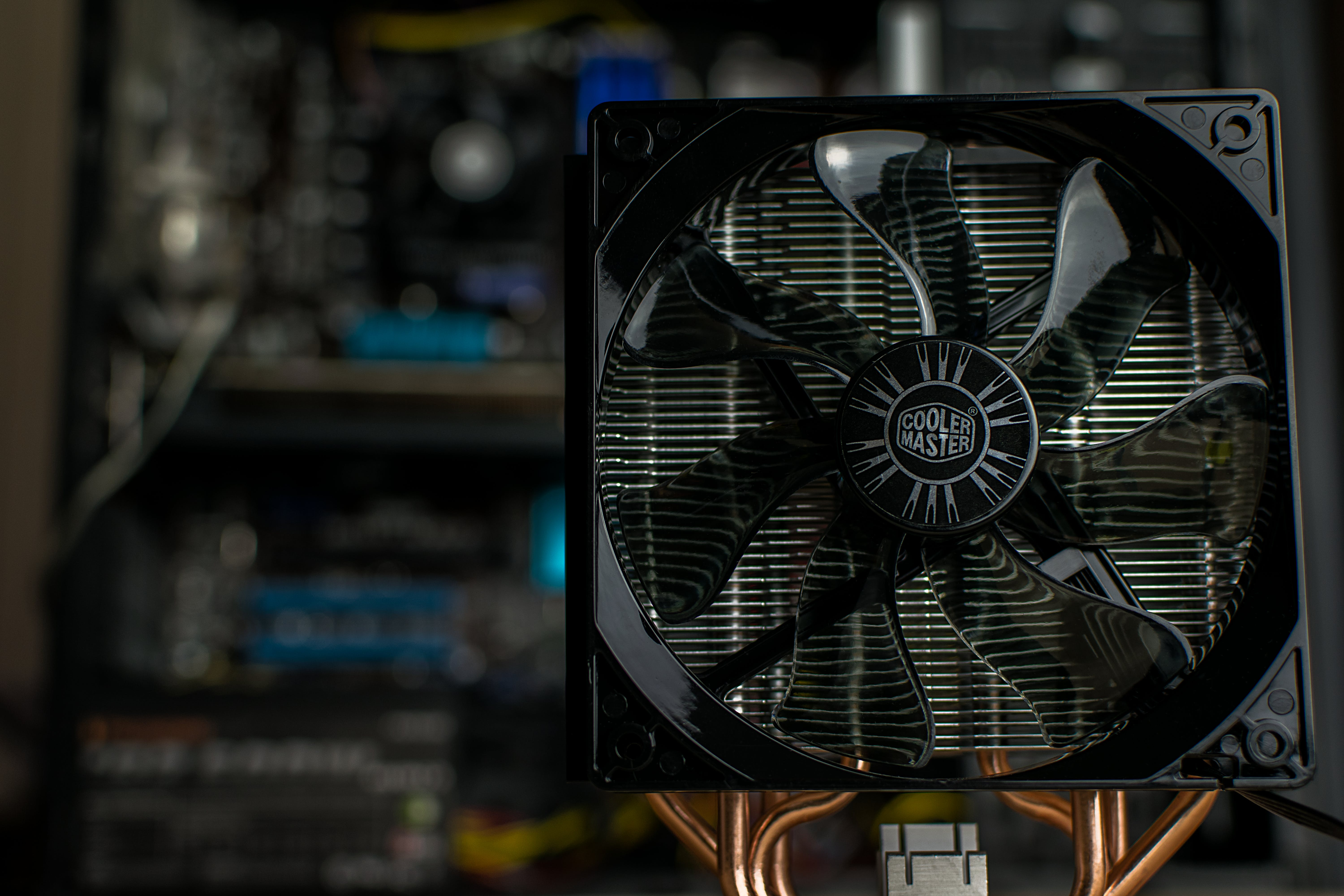 Free stock photo of cooler master, cpu, fan, heatsink