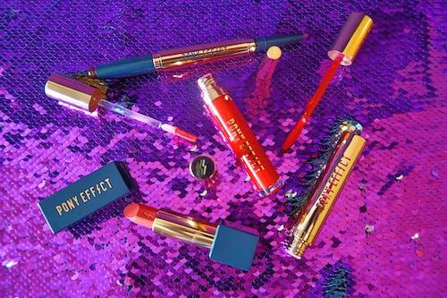 Free stock photo of beauty, cosmetics, flatlay