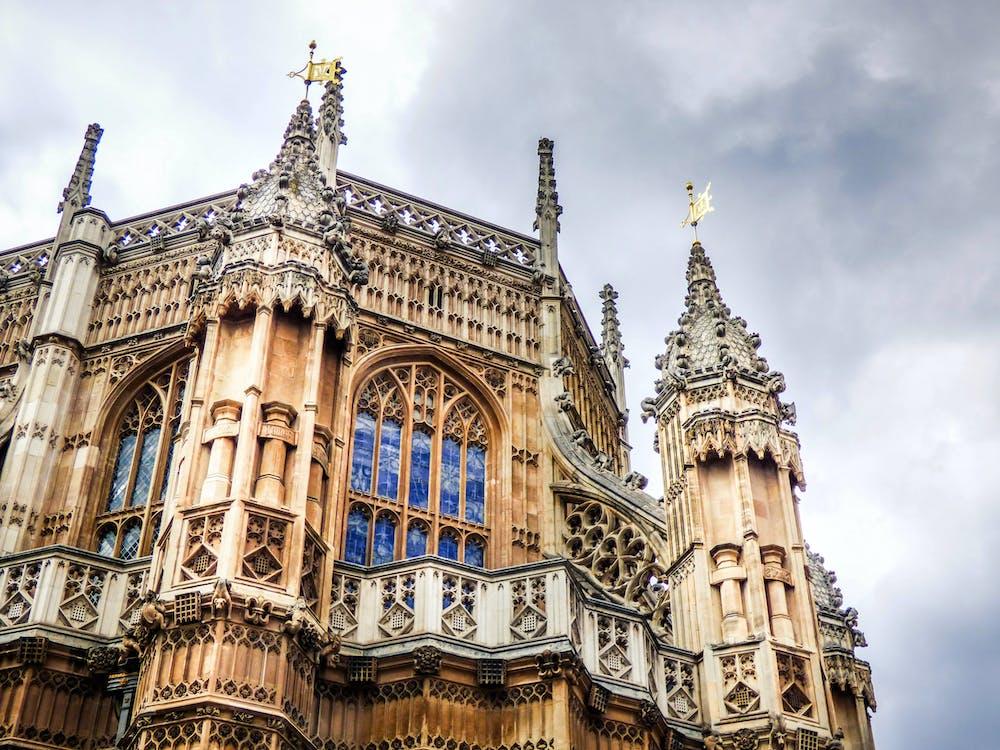 Anglicko, architektúra, budova