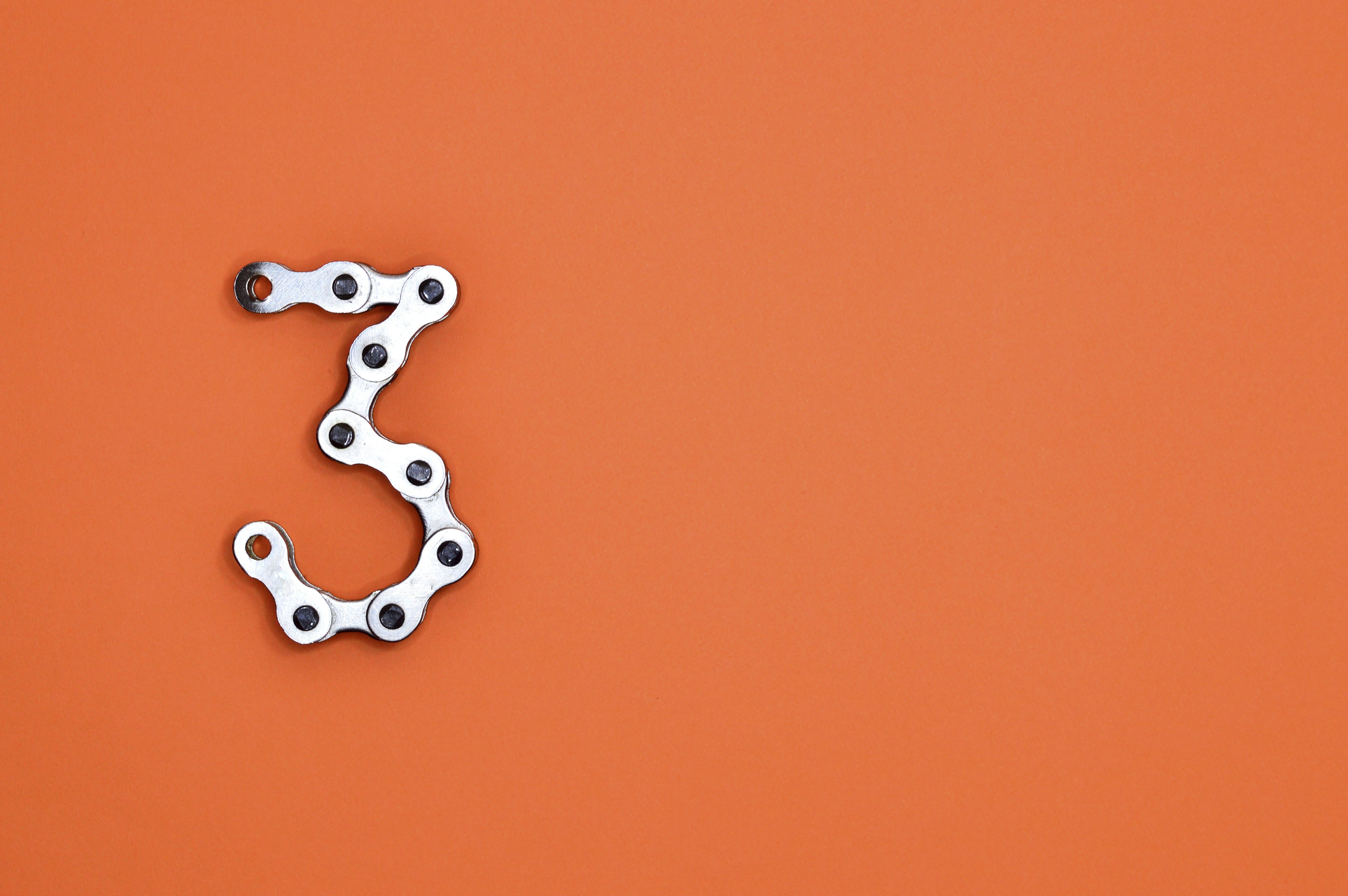 Gratis lagerfoto af 3, baggrund, ciffer, design