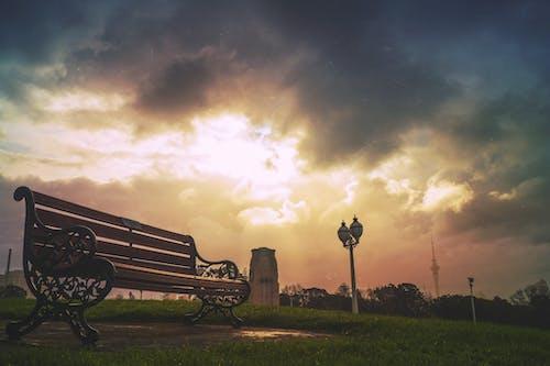 Foto d'estoc gratuïta de alba, capvespre, cel, fanals