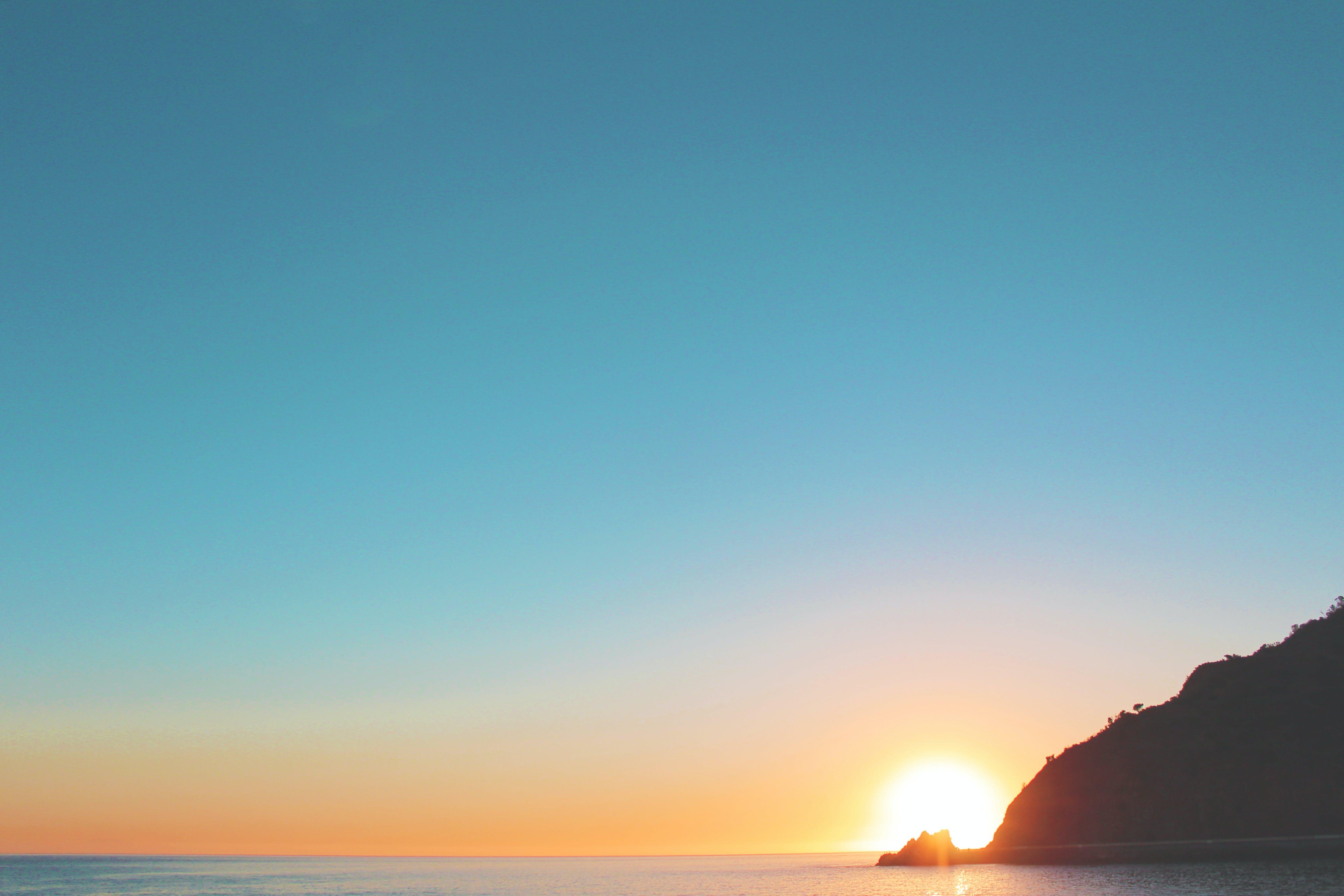Photo of Sea on Sunrise