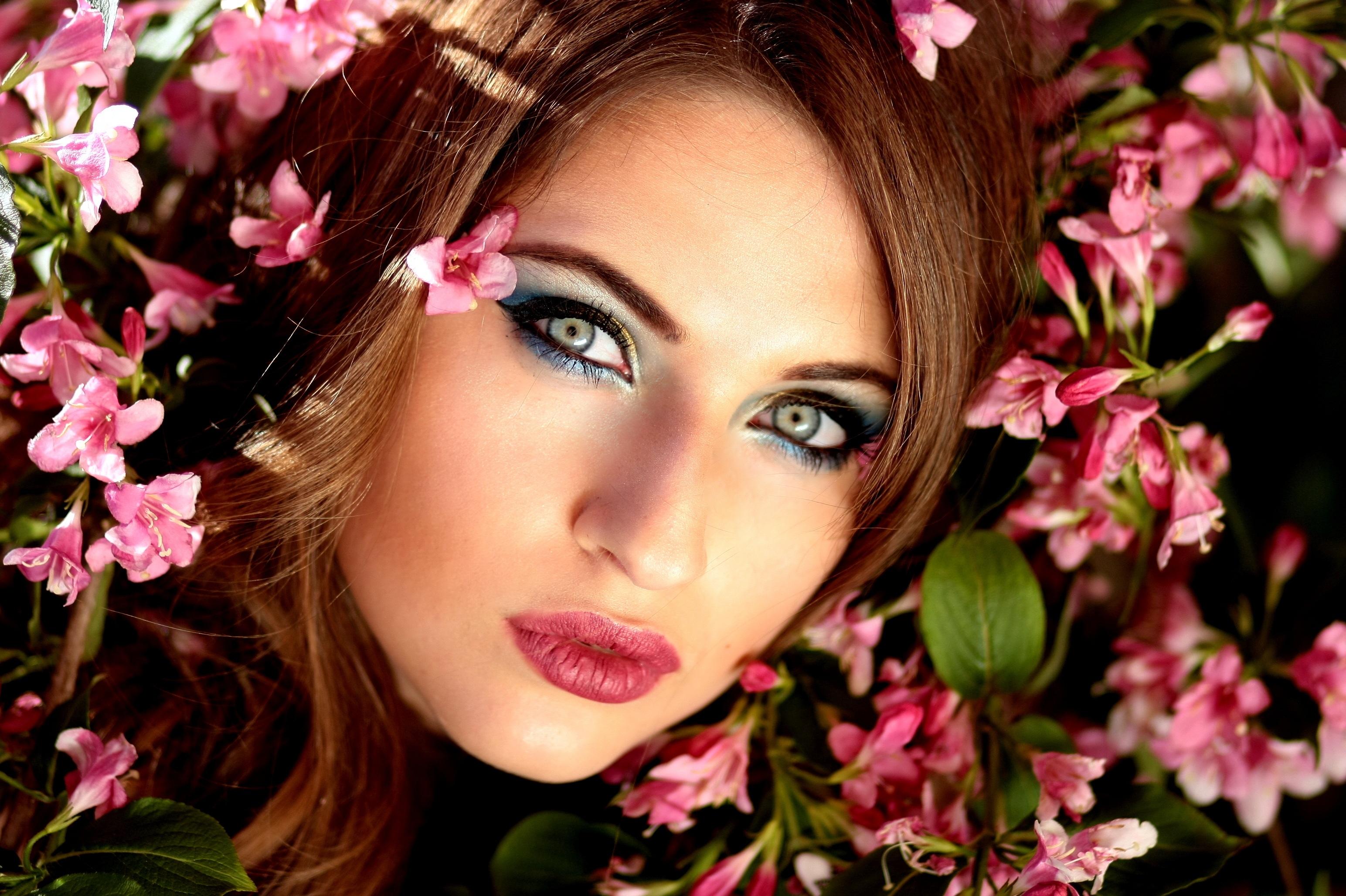 Woman Wearing Red Lipstick · Free Stock Photo