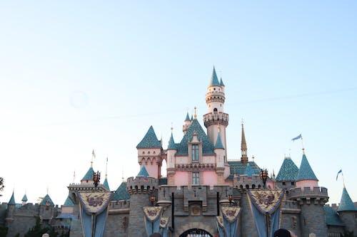 Free stock photo of castle, disney, disneyland