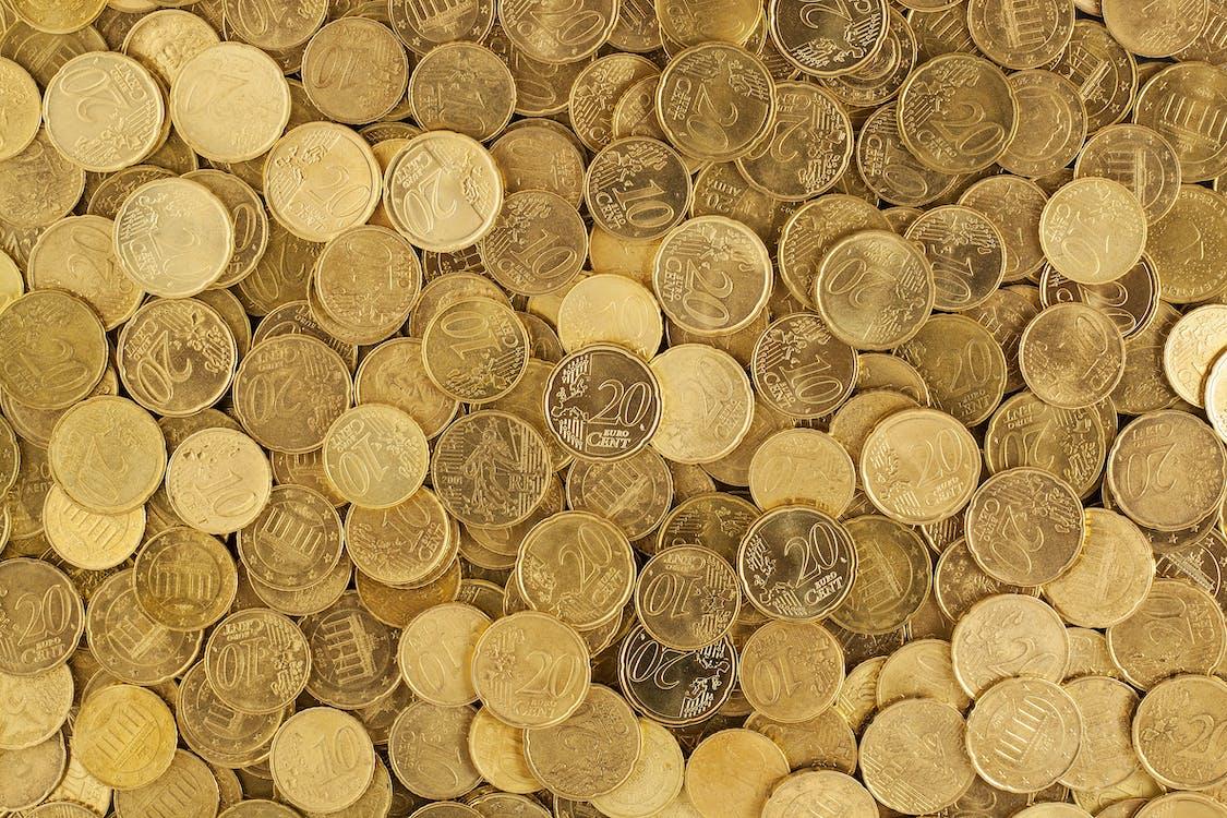 argent, cash, centime d'euro