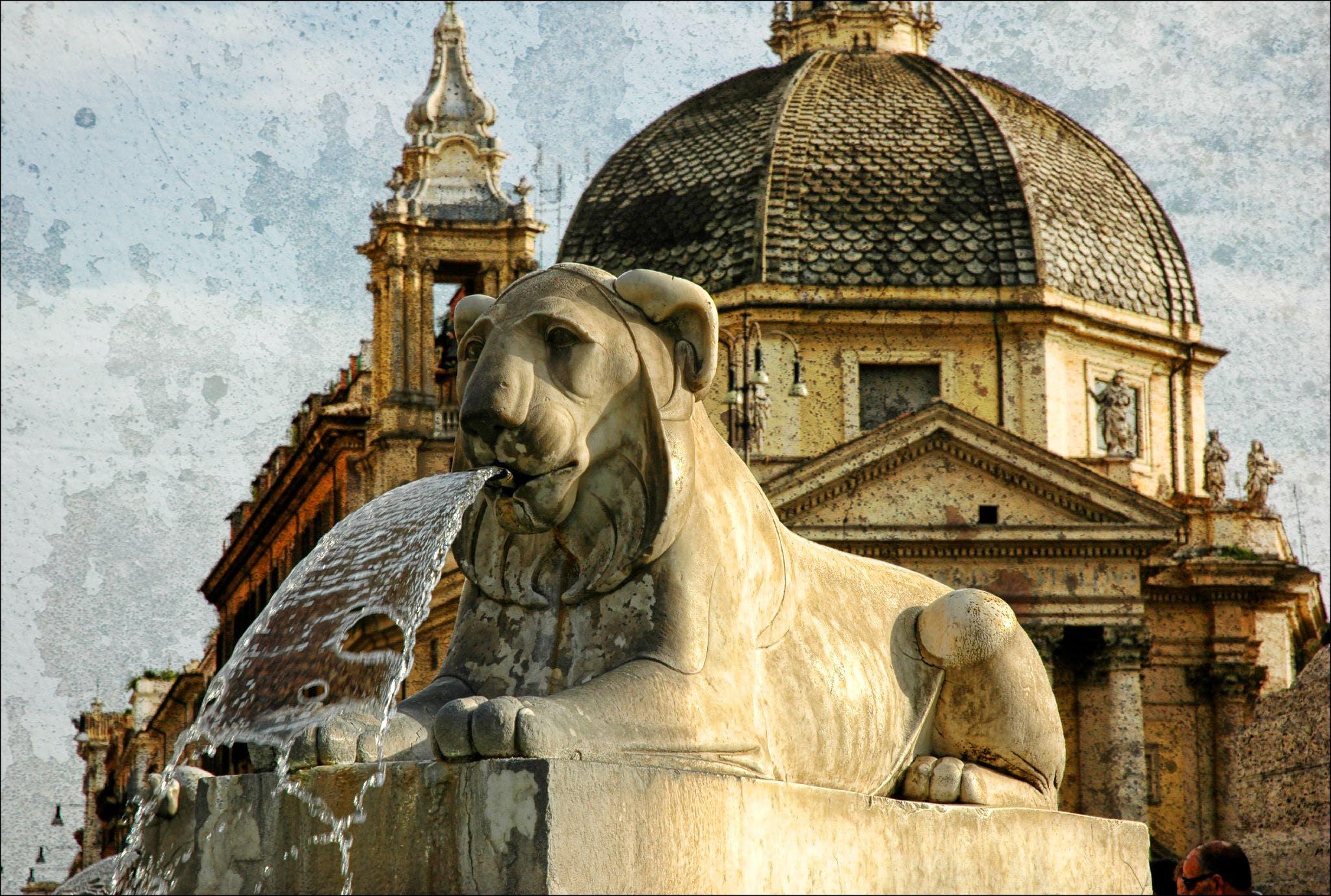 Free stock photo of animal, church, dome, fountain