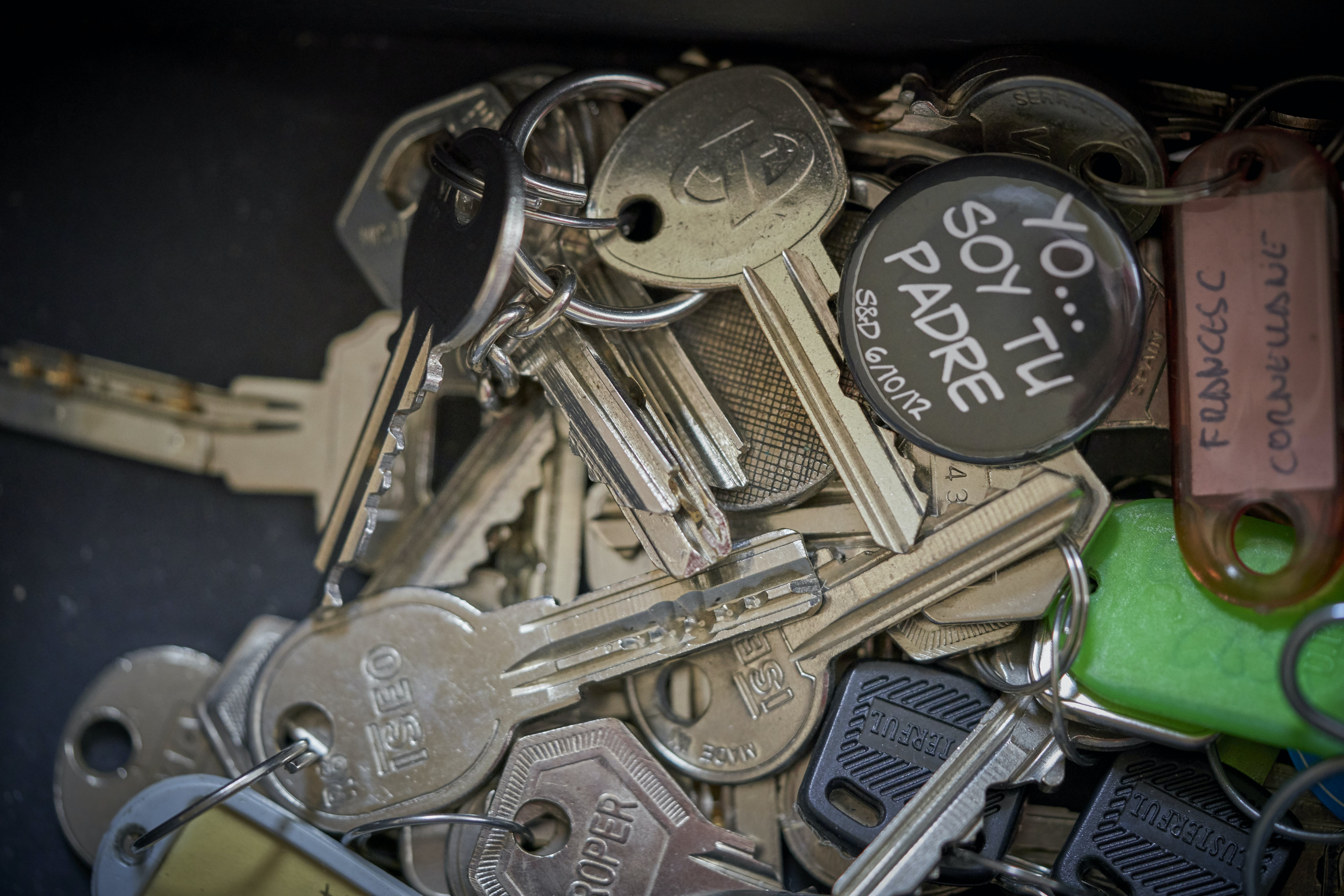 Free stock photo of keys