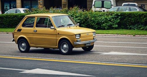 Základová fotografie zdarma na téma 126p, auto, automobil, Fiat