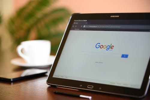 Kostenloses Stock Foto zu gadget, google, tablet, technologie
