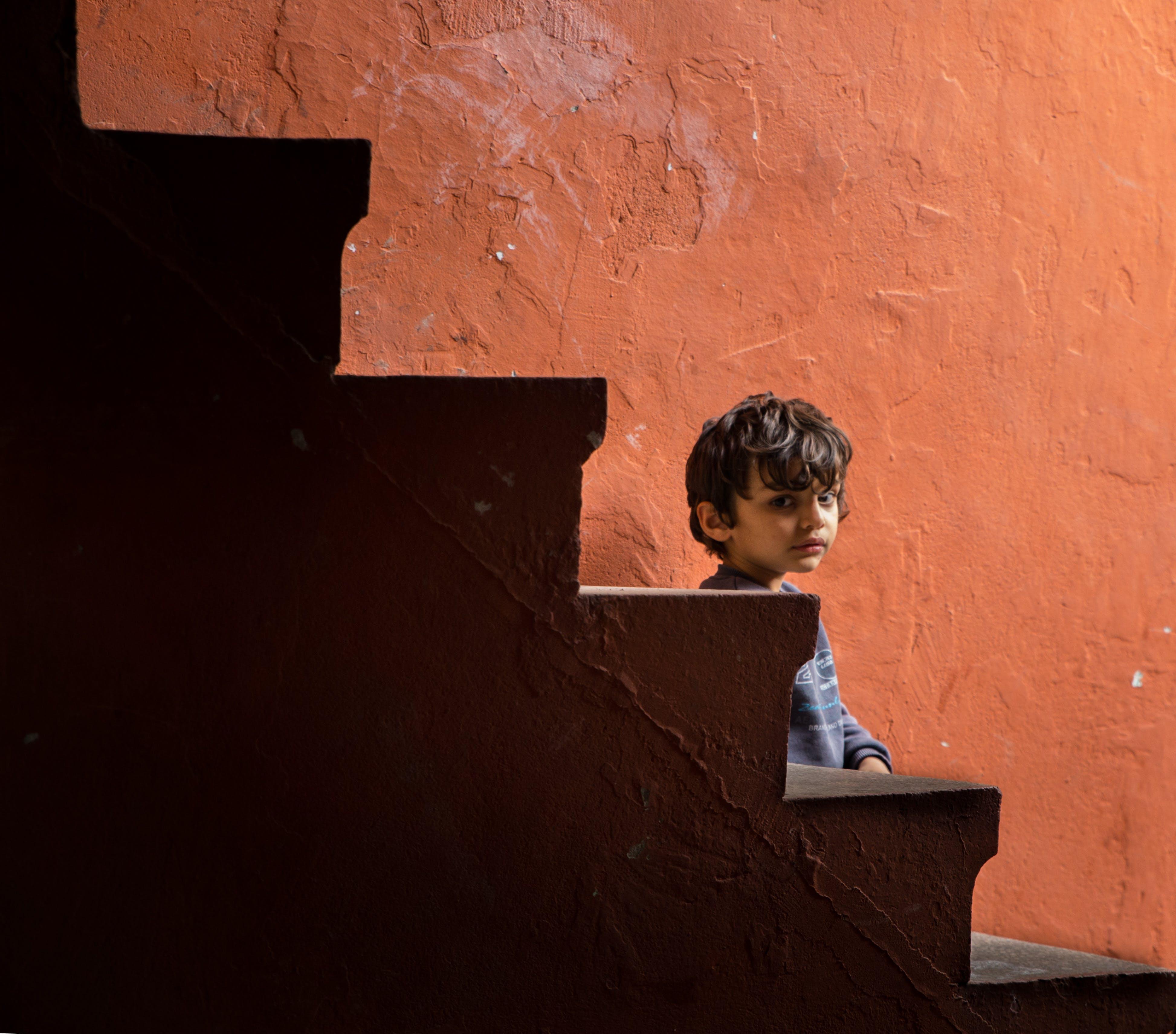 Free stock photo of brick, child, color, document