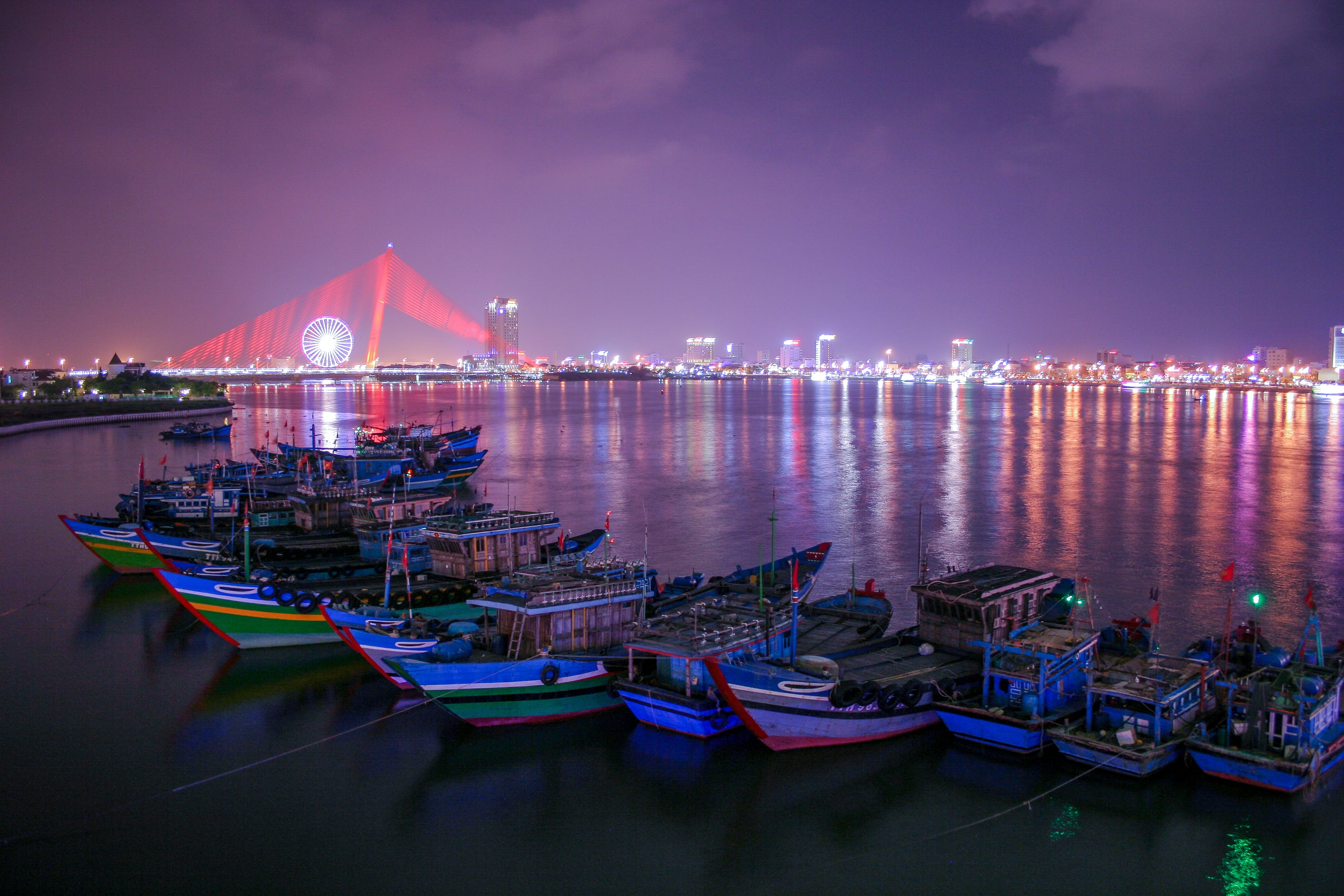 Photo of Boats in Bay