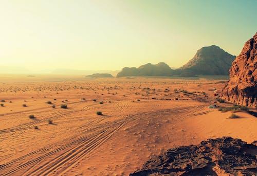 乾旱, 乾的, 地平線, 日光 的 免费素材照片